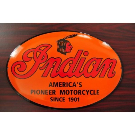 SMALTOVANA CEDULE INDIAN MOTORCYCLES SINCE 1901