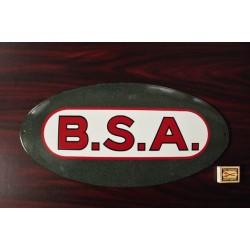 Smaltovaná cedule BSA