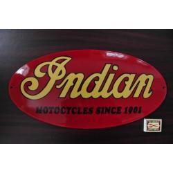 SMALTOVANA CEDULE INDIAN MOTORCYCLES SINCE 1901 2