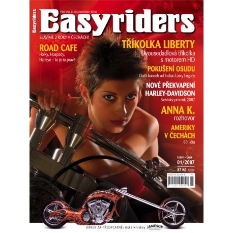 CASOPISY EASYRIDERS ROK 2007