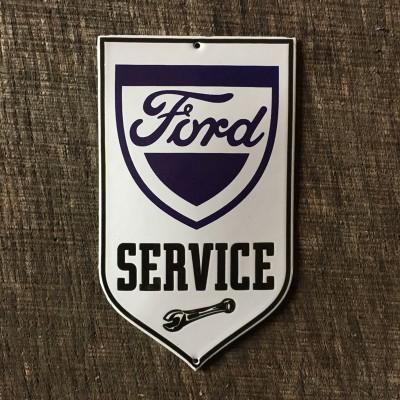 Smaltovaná cedulka FORD SERVICE