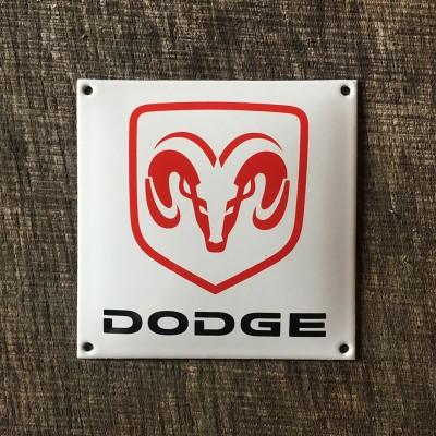 Smaltovaná cedulka DODGE