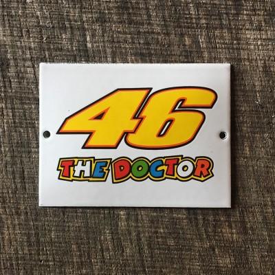 Smaltovaná cedulka 46 THE DOCTOR