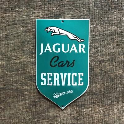 Smaltovaná cedulka JAGUAR SERVICE