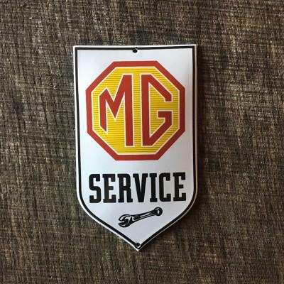 Smaltovaná cedulka MG SERVICE
