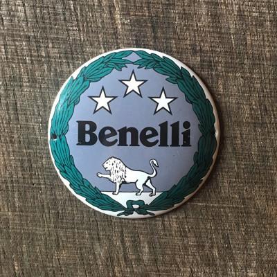 Smaltovaná cedulka BENELLI
