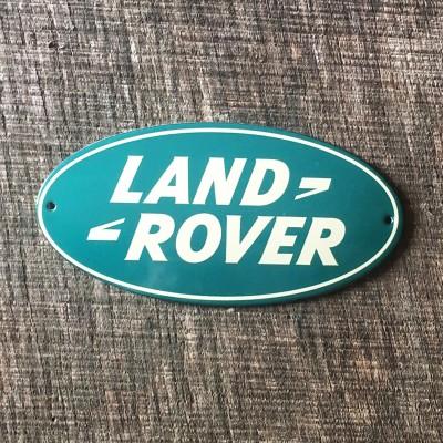 Smaltovaná cedulka LAND ROVER