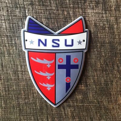 Smaltovaná cedulka NSU