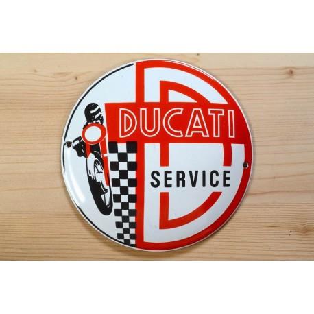 Smaltovaná cedule DUCATI SERVICE