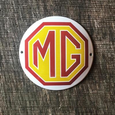 Smaltovaná cedulka MG