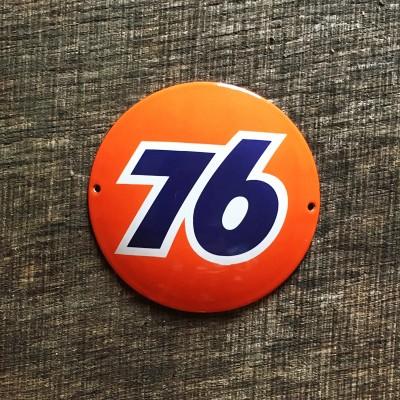 Smaltovaná cedulka 76