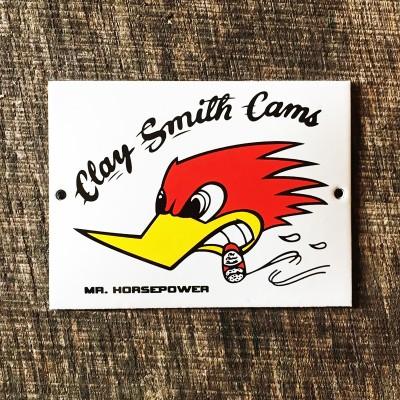 Smaltovaná cedulka CLAY SMITH CAMS