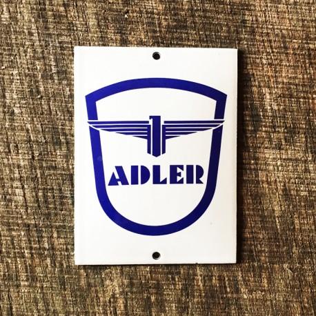 Smaltovaná cedulka ADLER