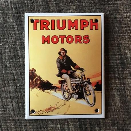 Smaltovaná cedulka TRIUMPH MOTORS