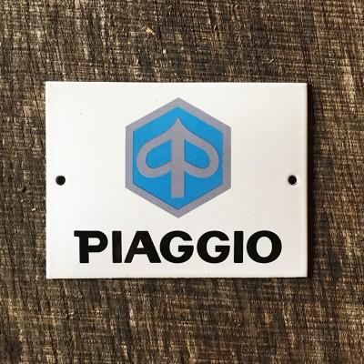 Smaltovaná cedulka PIAGGIO