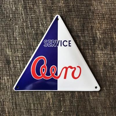 Smaltovaná cedulka AERO SERVICE