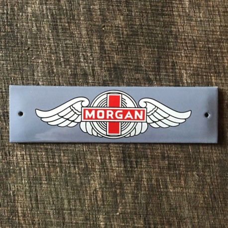 Smaltovaná cedule MORGAN