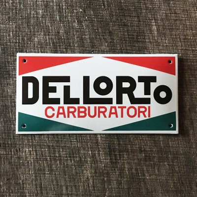 Smaltovaná cedule DELLORTO