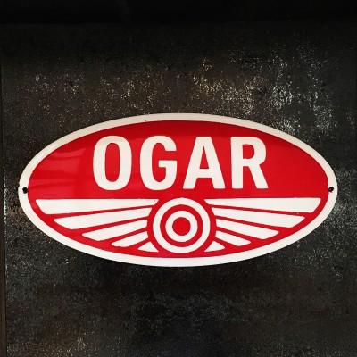 Smaltovaná cedule OGAR 46 cm