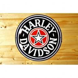 Smaltovaná cedulka HARLEY - DAVIDSON