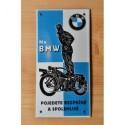 Dobová smaltovaná cedule BMW
