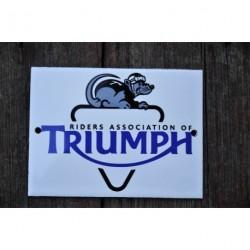 Smaltovaná cedule TRIUMPH MOTORCYCLES