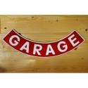 Smaltovaná cedule GARAGE