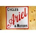 Smaltovaná cedule ARIEL CYCLES