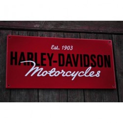 Smaltovaná cedule HARLEY-DAVIDSON MOTORCYCLES 1903