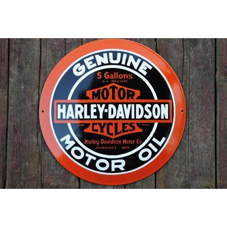 Smaltovaná cedulka HARLEY-DAVIDSON