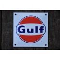 Smaltovaná cedulka GULF