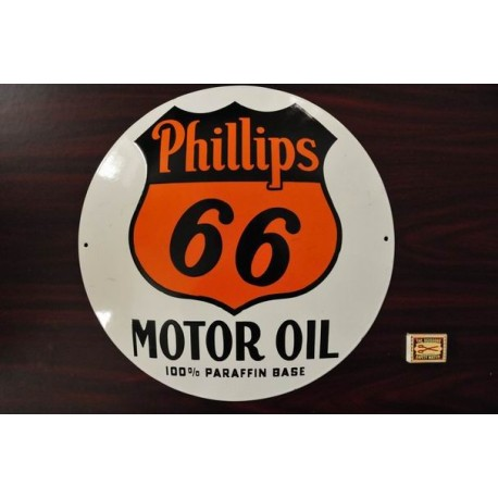 SMALTOVANA CEDULE PHILIPS 66 MOTOR OIL