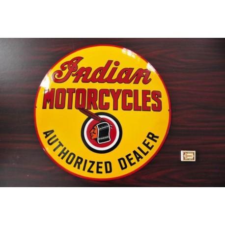 SMALTOVANA CEDULE INDIAN MOTORCYCLES AUTHORIZED DEALER