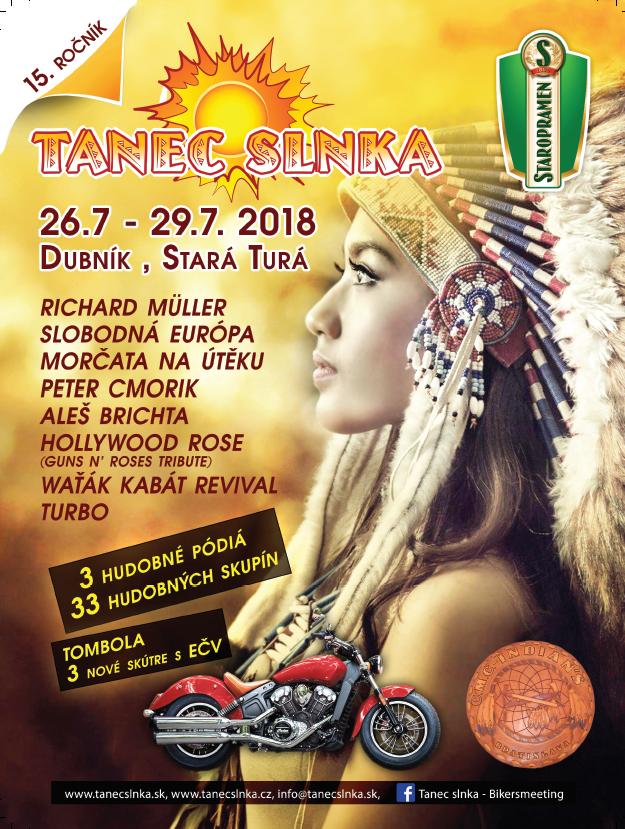 Tanec slnka 2018