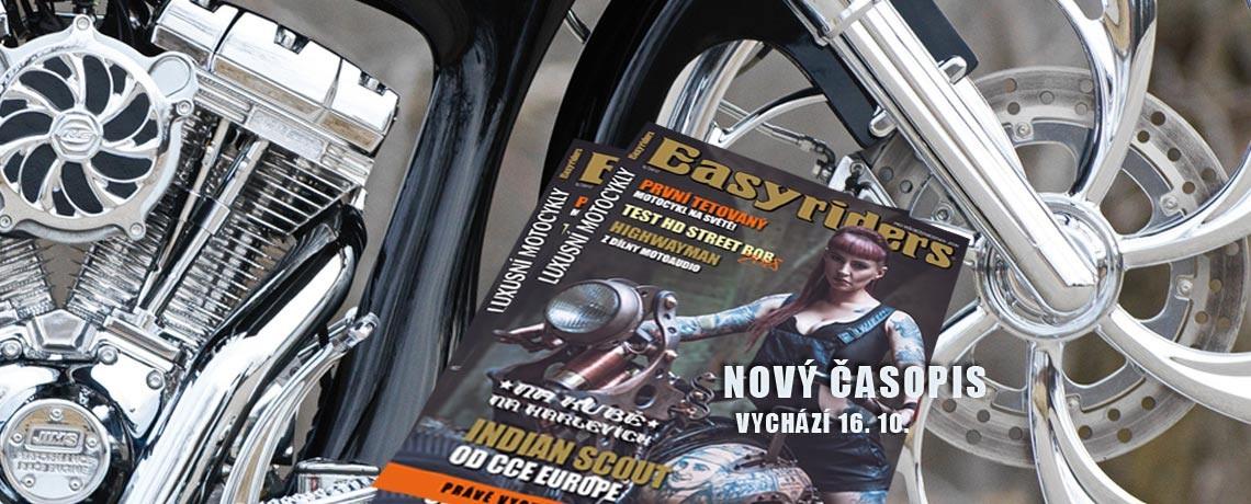 Nové číslo časopisu Easyriders