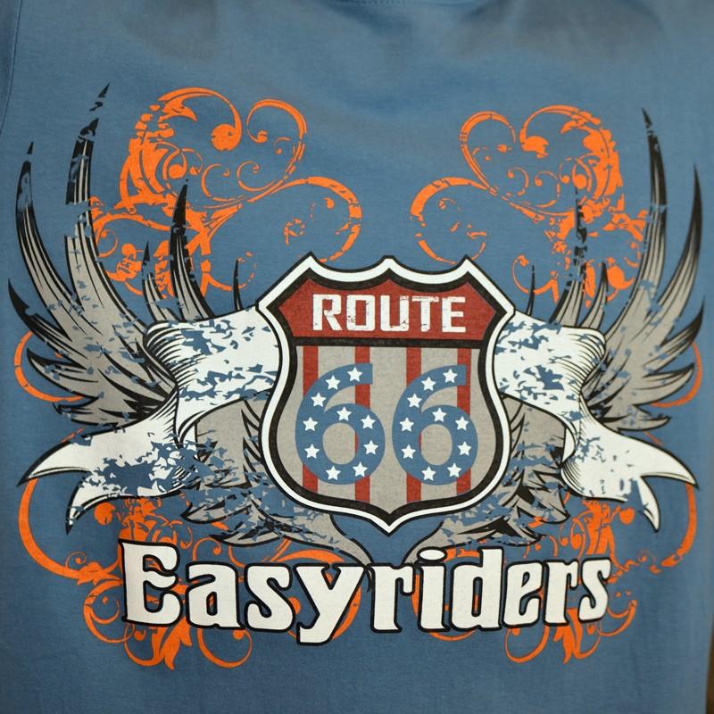 97fd329e2b0 Pánské tričko ROUTE 66 - Easyriders