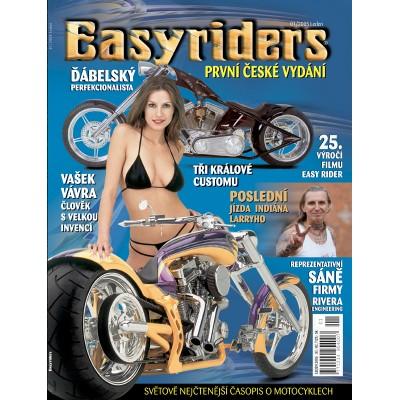 ČASOPISY EASYRIDERS ROK 2005