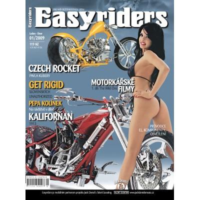 ČASOPISY EASYRIDERS ROK 2009