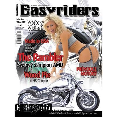 ČASOPISY EASYRIDERS ROK 2010