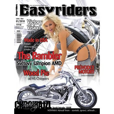 CASOPISY EASYRIDERS ROK 2010