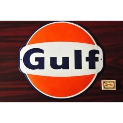 Smaltovaná cedule MOTO GULF