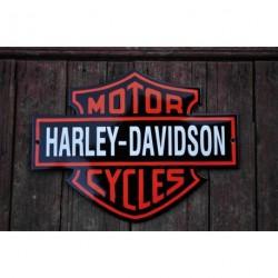 Smaltovaná cedulka MOTOR HARLEY-DAVIDSON CYCLES
