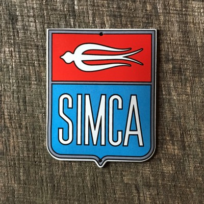 Smaltovaná cedulka SIMCA