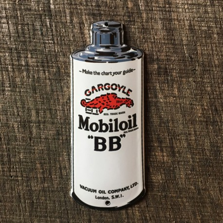 Smaltovaná cedulka MOBILOIL
