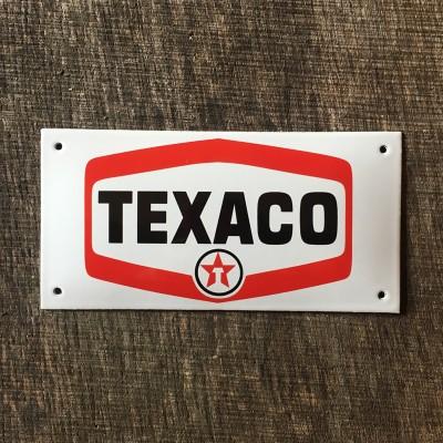 Smaltovaná cedule TEXACO