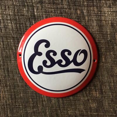 Smaltovaná cedulka ESSO