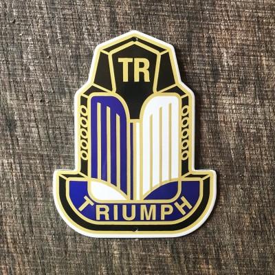 Smaltovaná cedulka TRIUMPH TR3 OLDTIMER