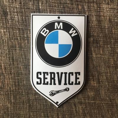 Smaltovaná cedulka BMW SERVICE