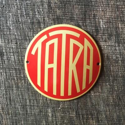 Smaltovaná cedulka TATRA