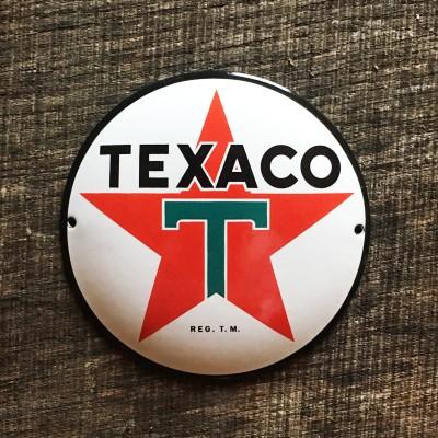 Smaltovaná cedulka TEXACO